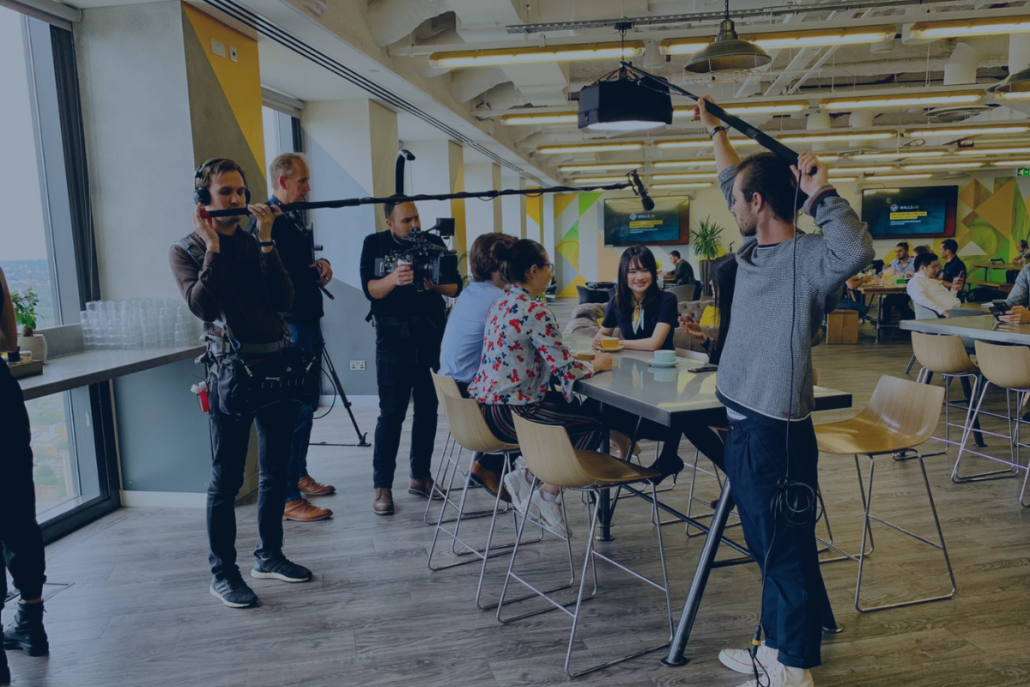 behind the scenes image to support Digital trends